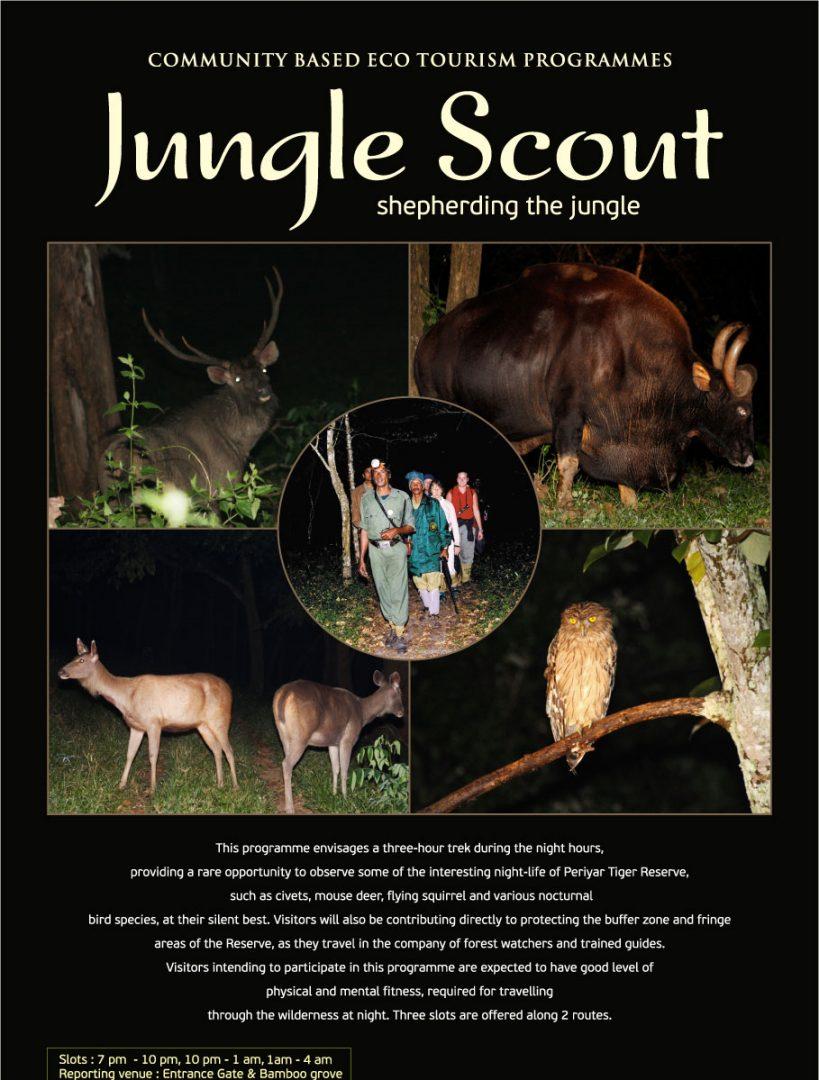 jungle-scout | Periyar Tourism